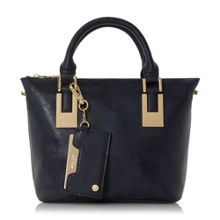 Delirna mini double top handle tote bag