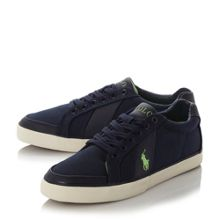 Polo Ralph Lauren Hugh contrast stripe trainer