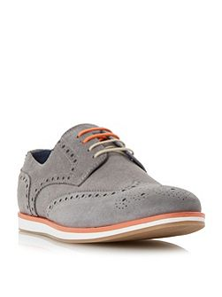 Brisbane wedge sole colour pop brogue