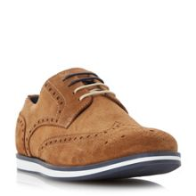 Dune Brisbane wedge sole colour pop brogue