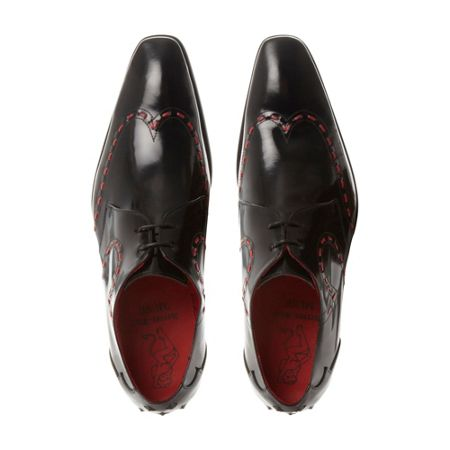 Jeffery West Ja12 stitch detail formal shoes