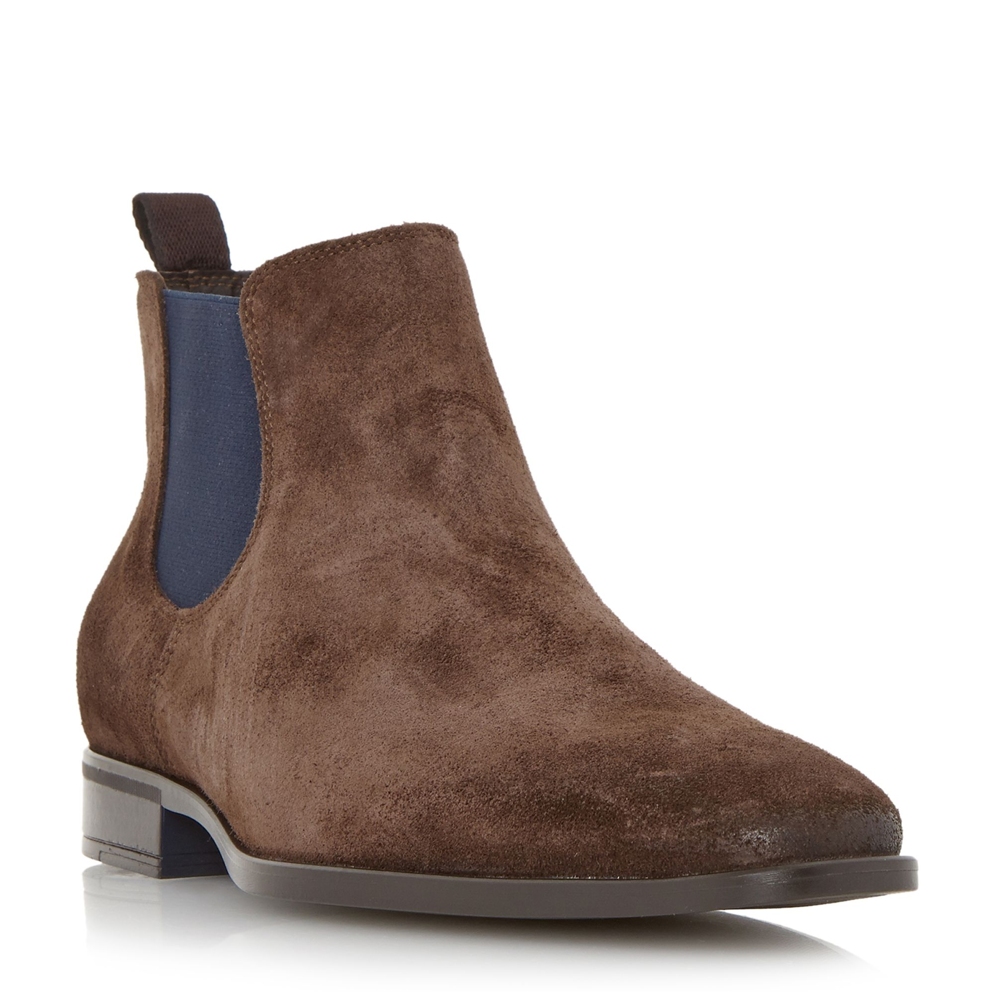 Dune maritime colour chisel toe chelsea boots gay times for Housse of fraser