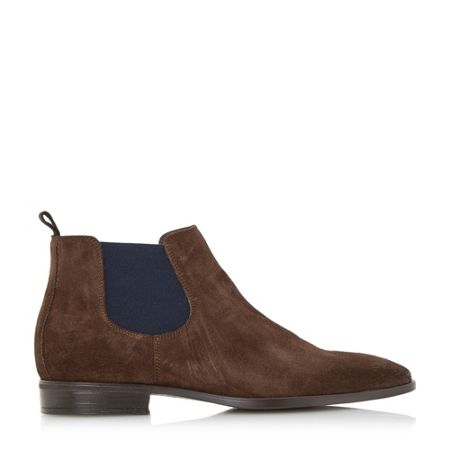 Dune Maritime colour chisel toe chelsea boot
