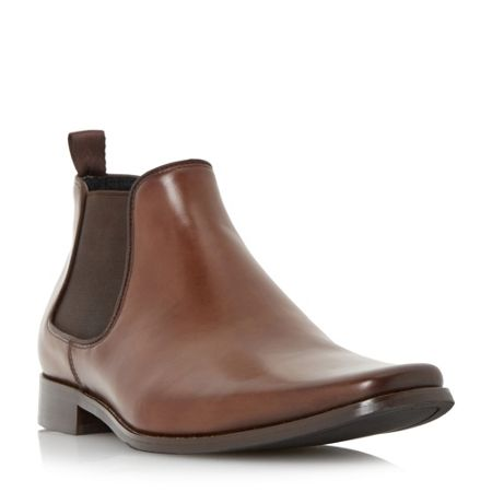 Dune Arkwrights square toe chelsea boot