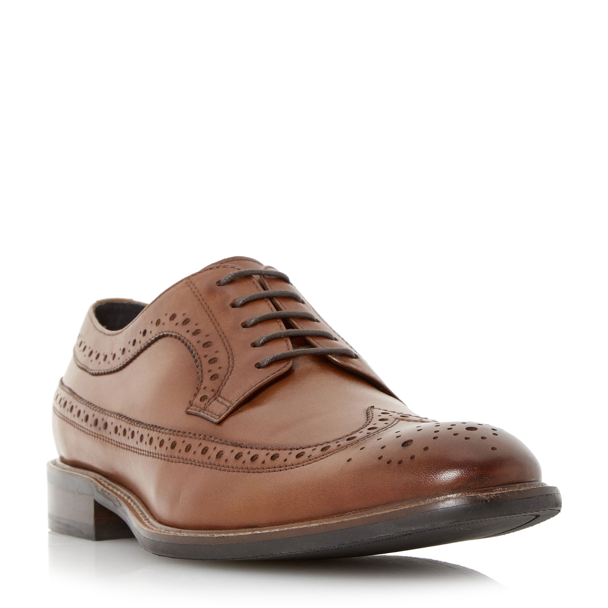 Bertie Rizzo leather brogues Brown