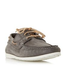 Dune Belize lace up boat shoe