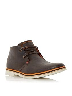 Comet colour pop leather chukka boots