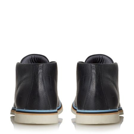 Dune Comet colour pop leather chukka boots