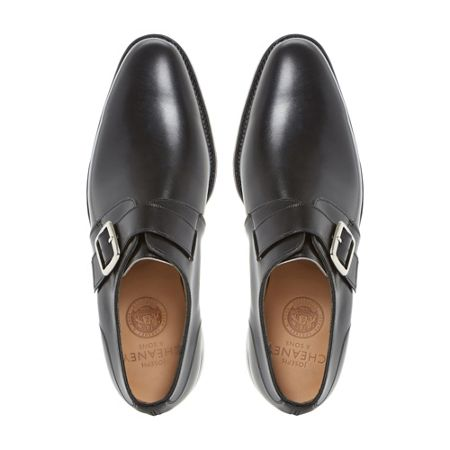 Cheaney Mens Moorgate Single Strap Monk Shoes