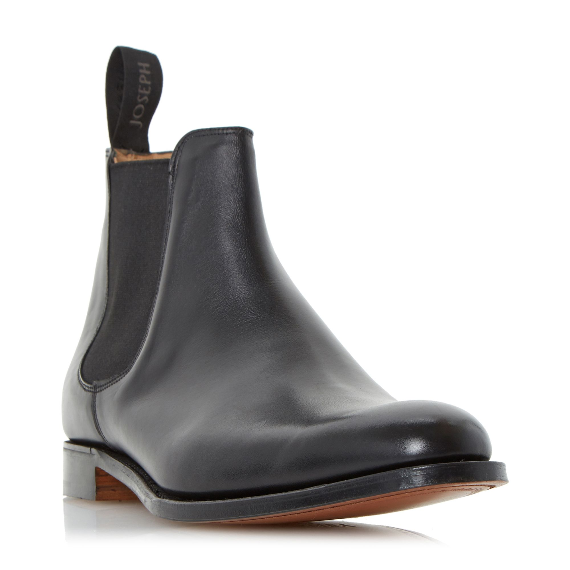 Cheaney Mens Cheaney Mens Threadneedle Chelsea Boots, Black