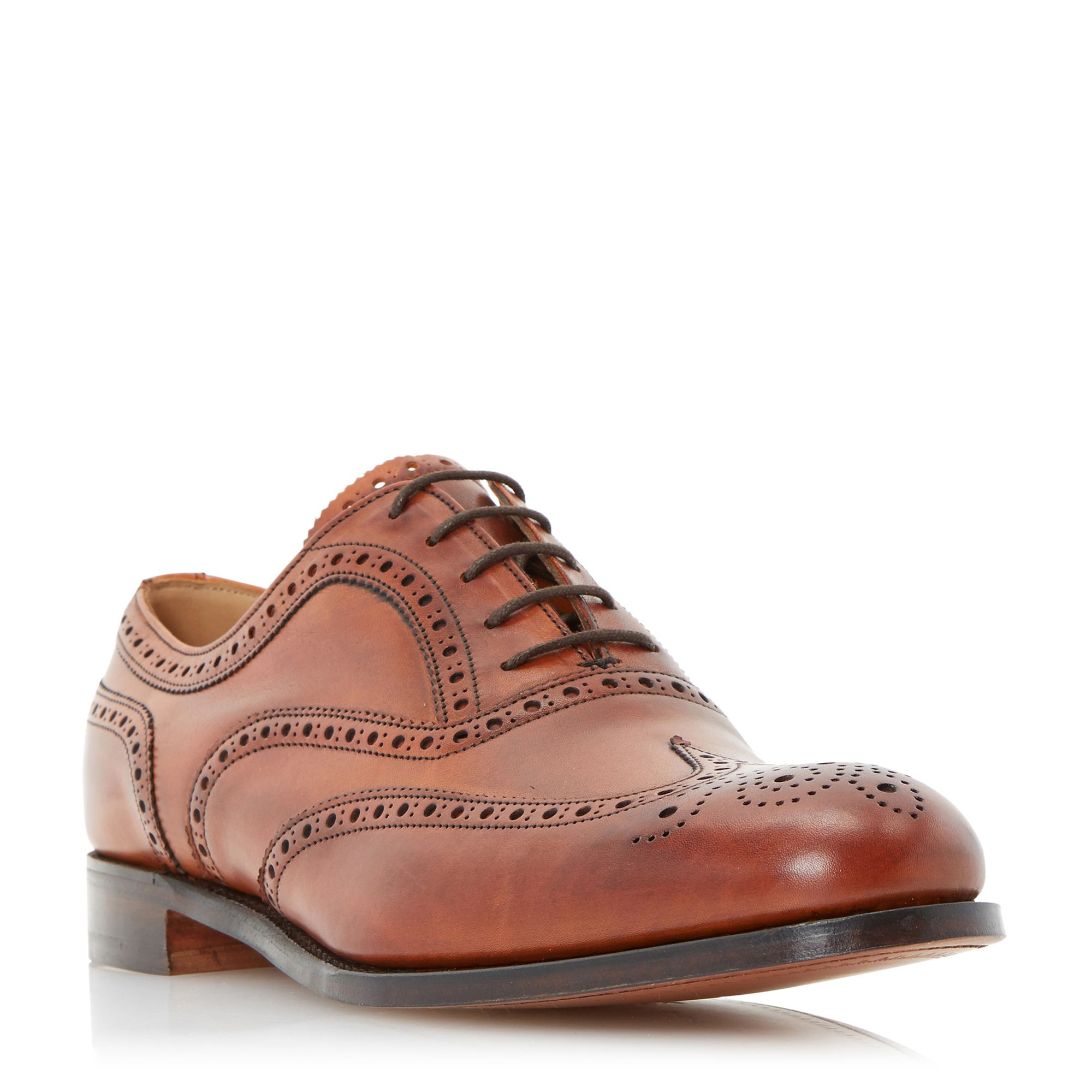Cheaney Mens Cheaney Mens Arthur III Wingtip Brogues, Tan