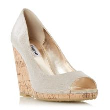 Charlotte wedge open court shoes