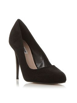 Angelica almond toe court shoes