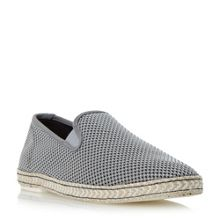 Dune Firecracker canvas espadrille shoe