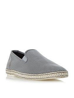 Firecracker canvas espadrille shoe