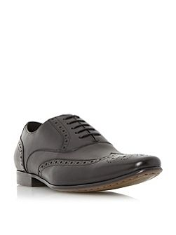 Raymond leather oxford brogue shoes