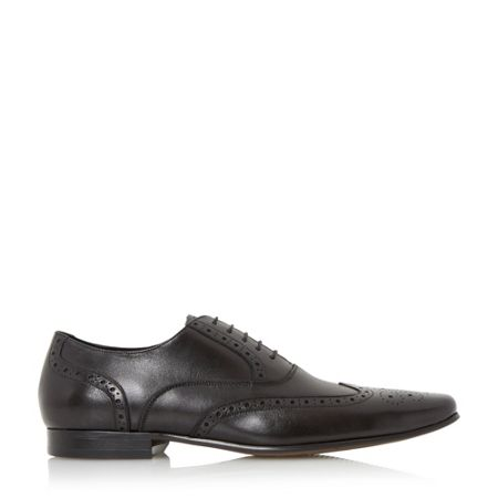 Dune Raymond leather oxford brogue shoes