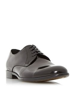 Redmayne Round Toe Leather Derby Shoes