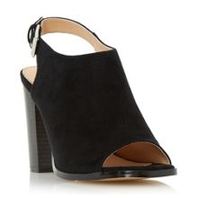 Iona peep toe block heel sandals