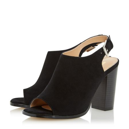 Head Over Heels Iona peep toe block heel sandals