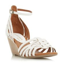 Head Over Heels Kruizer two part strappy wedge sandals