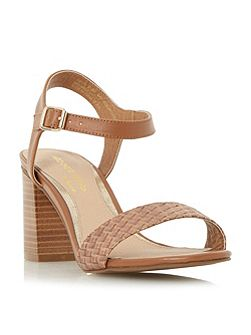 Ivette woven front two part sandals