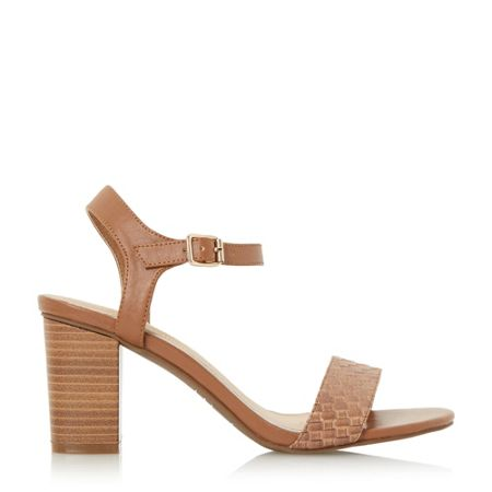 Head Over Heels Ivette woven front two part sandals