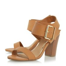 Head Over Heels Idesia buckle block heel sandals