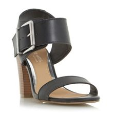 Idesia buckle block heel sandals