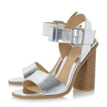 Head Over Heels Ilana chunky block heel sandals