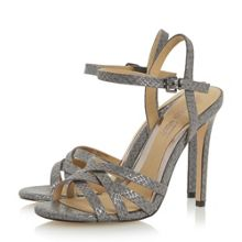 Head Over Heels Melainey cross over strappy sandals