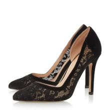 Head Over Heels Clarrice semi d`orsay high court shoes
