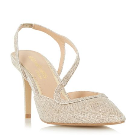 Head Over Heels Cherie assymetric strap open courts