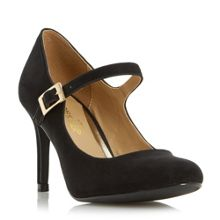 Anitha mid heel mary jane shoes