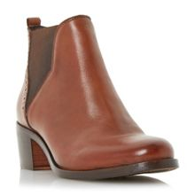 Dune Parnell punch hole detail chelsea boots