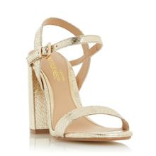 Head Over Heels Maylie Two Part Block Heel Sandals