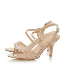 Head Over Heels Mattori assymetric strappy sandals