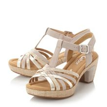 Gabor Cheri multi strap buckle sandals