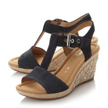 Gabor Karen buckle wedge sandals