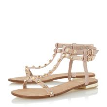 Dune Nessey jewelled stud sandals