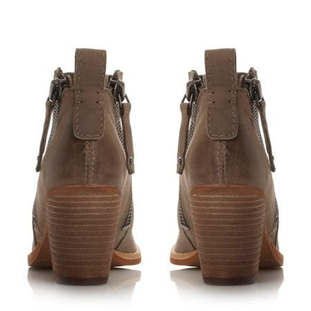 Dolce Vita Jaeger zip detail ankle boots