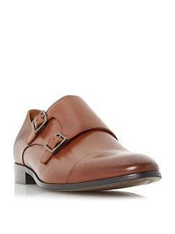 Reynolds toecap double monk shoes