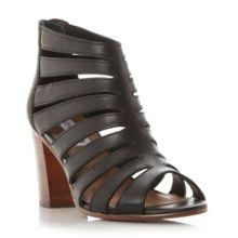 Vendetta multi strap block heel sandals