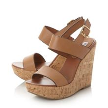 Steve Madden Esme cork wedge sandals