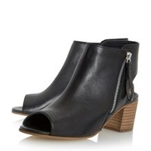 Dune Joselyn peep toe ankle boot sandals