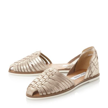 Steve Madden Hillarie woven loafers