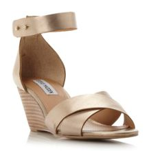 Steve Madden Nilla cross over strap wedge sandals