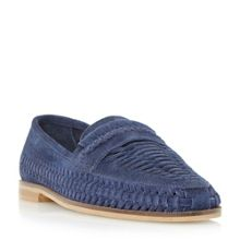 Dune Brighton woven loafer shoes