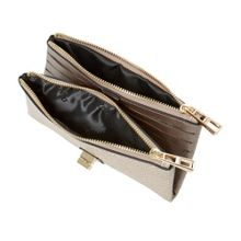 Dune Katniss folded turnlock strap purse