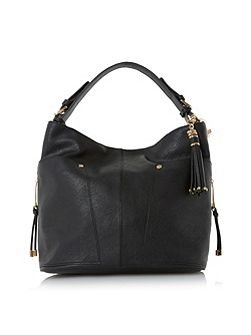 Dacey side pocket detail hobo bag